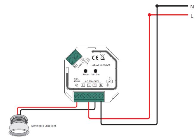 Sm309 Zigbee Dimmer Switch  U2013 Samotech