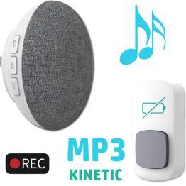 SM304 Wireless MP3 Kinetic Doorbell