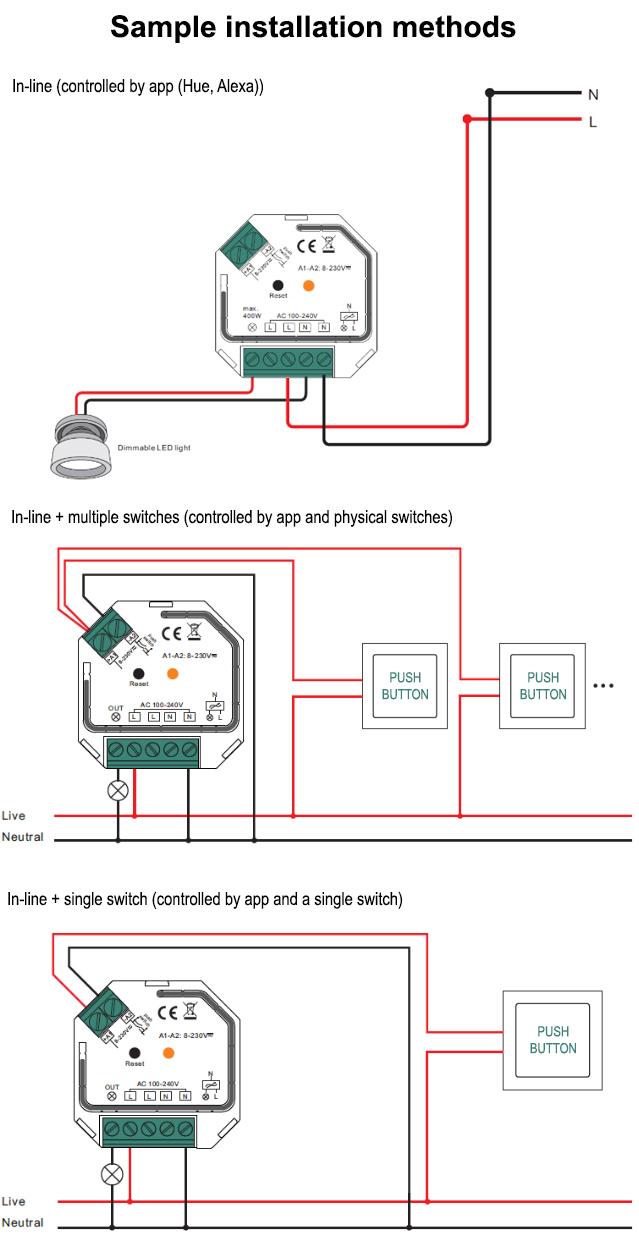 Sm308 Zigbee On  Off Switch  U2013 Samotech